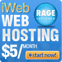 rage web hosting