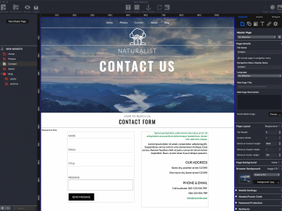 EverWeb's Contact Form Advanced Widget