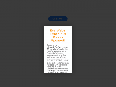 EverWeb's Popup Window